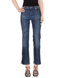 Moschino Jeans | Blue Denim Trousers | Lyst