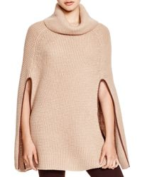 Pink Pony | Natural Lauren Waffle Capelet | Lyst