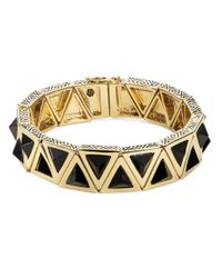 House of Harlow 1960 | Metallic Aura Tennis Bracelet | Lyst