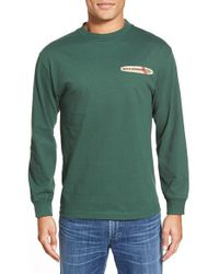 Reyn Spooner | Green 'hawaiian Christmas' Long Sleeve Graphic T-shirt for Men | Lyst
