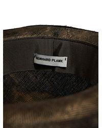 Reinhard Plank - Gray New Season - Mens Manco Straw Hat for Men - Lyst