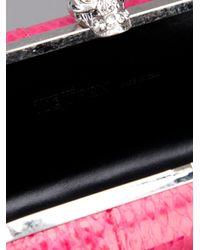 Alexander McQueen | Purple Skull Box Clutch | Lyst