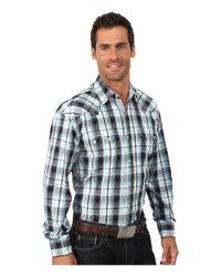 Stetson | Blue Club Plaid Flat Weave W/ Stin Stripe for Men | Lyst