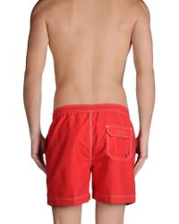 Timberland | Red Swimming Trunk for Men | Lyst