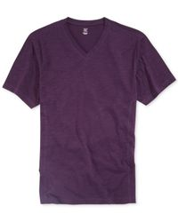 INC International Concepts - Purple I Work Out Core V-Neck Shirt for Men - Lyst