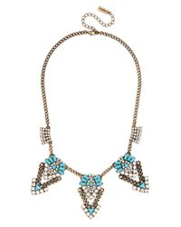 BaubleBar | Blue Urban Warrior Bib | Lyst