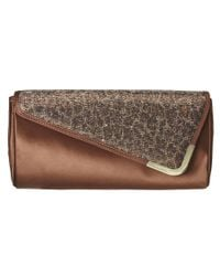 Nine West - Brown Danee Clutch - Lyst