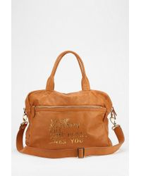 Urban Outfitters - Brown Paris House Small Weekend Bag - Lyst
