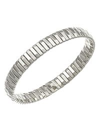 Chimento | Metallic 18k White Gold Armillas Collection Ridge Line Bracelet | Lyst