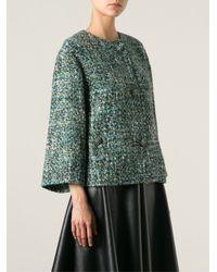 Dolce & Gabbana - Multicolor Bouclé Jacket - Lyst