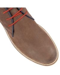 Lotus - Brown Holbeton Lace Up Casual Desert Boots for Men - Lyst