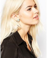 Only Child - Multicolor Constellation Crystal Stud Earrings - Lyst