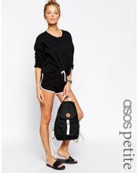 ASOS | Black Basic Runner Shorts With Contrast Binding | Lyst