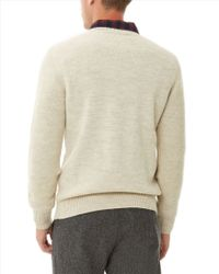 Jaeger | Natural Sport-loden Crew Neck Sweater for Men | Lyst