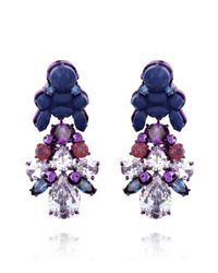 EK Thongprasert - Blue Aguilegia Alpina Earrings - Lyst