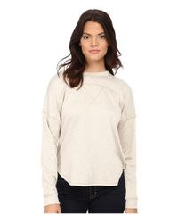 LNA - Natural Gym Class Sweatshirt - Lyst