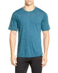 Patagonia | Blue Base Layer Merino Wool Blend Performance T-shirt for Men | Lyst