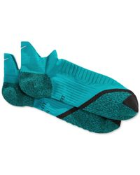 Nike | Blue Elite Cushioned No-show Running Socks | Lyst