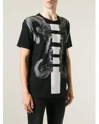 Marcelo Burlon - Black Antelope Print T-Shirt for Men - Lyst