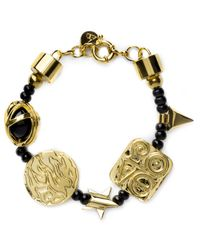 Ambush | Metallic Gold Charm Bracelet for Men | Lyst