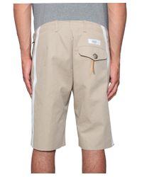 Saucony - Natural Cotton Bermuda Shorts for Men - Lyst
