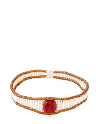 Ziio | Red Armonia Bracelet | Lyst