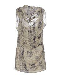 IRO - Green Short Dress - Lyst