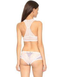 Honeydew Intimates | Pink Carli Lace Bralette - Black | Lyst