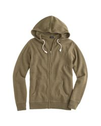 J.Crew - Natural Cotton-cashmere Zip Hoodie for Men - Lyst