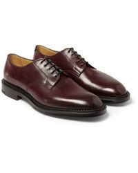 Edward Green | Purple Windermere Cordovan Leather Derby Shoes for Men | Lyst