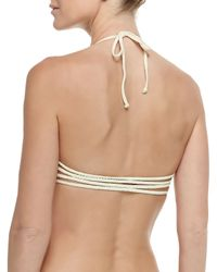 Pilyq - Natural Zen Braided Swim Top - Lyst