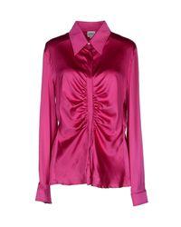 Armani - Purple Shirt - Lyst