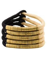 Forte Forte | Black Wrap Bracelet | Lyst