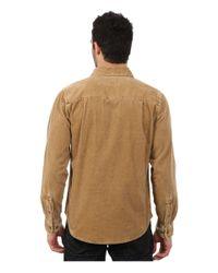 Woolrich - Natural Hemlock Cord Shirt Modern for Men - Lyst