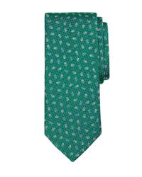 Brooks Brothers - Green Tossed Flower Tie for Men - Lyst