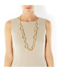 Hobbs | Metallic Selena Necklace | Lyst