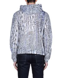 Dirk Bikkembergs - Gray Jacket for Men - Lyst