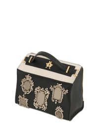 Giancarlo Petriglia - Black Clary Mirror Embellished Leather Bag - Lyst