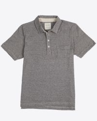 Billy Reid | Gray Pensacola Polo for Men | Lyst