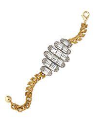 Lulu Frost | Metallic Elizabeth Crystal Bracelet | Lyst