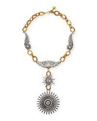 Lulu Frost | Metallic Odyssey Starburst Pendant Necklace | Lyst