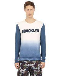 Puma Select - Blue Bwgh Patch Cotton & Viscose Sweatshirt for Men - Lyst