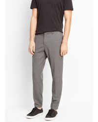 Vince | Gray Worsted Wool Urban Jogger for Men | Lyst