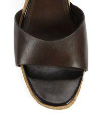 Derek Lam | Brown Koda Studded Leather Clog Sandals | Lyst
