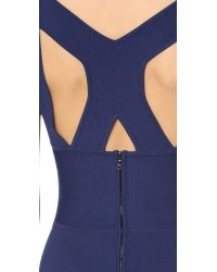 Narciso Rodriguez - Blue Sleeveless Dress - Lyst