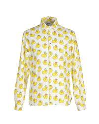 Au Jour Le Jour - White Shirt for Men - Lyst