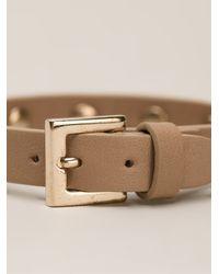 Valentino | Brown Rockstud Bracelet | Lyst