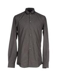 CoSTUME NATIONAL - Black Shirt for Men - Lyst
