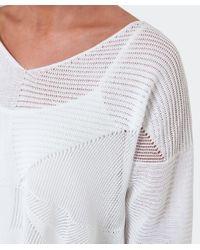 Crea Concept - Multicolor Asymmetric Cropped Sweater - Lyst