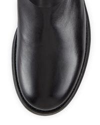Aquatalia | Black Laureen Weatherproof Patent Boot | Lyst